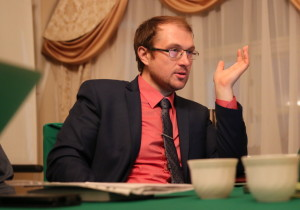 Председатель приходского совета А.И. Мраморнов