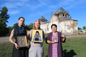 Храм святой Аллы провел 13-й волонтерский лагерь в с. Старая Потловка