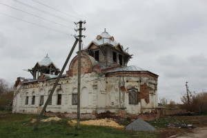 Продолжается возрождение храма св. Аллы
