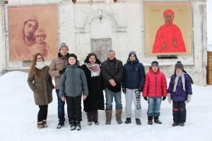 Попечительский совет Храм св. Аллы в ходе январской волонтерской акции организовал поздравление детей прихода со Святками