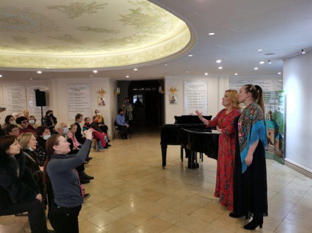 Храм св. Аллы провел первый в 2021 г. благотворительный концерт-прием