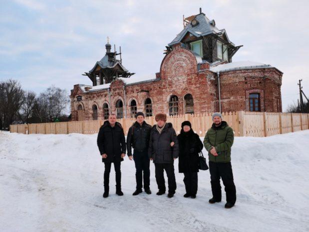 Храмом св. Аллы сделан еще один шаг к возрождению чеботаевской усадьбы